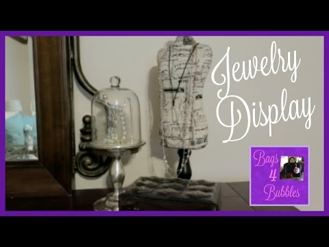 DRESSER JEWELRY DISPLAY ♥ POTTERY BARN CLOCHE | Bags4Bubbles