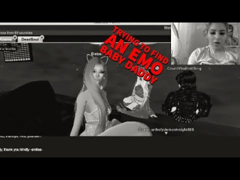 TRYING TO FIND AN EMO BABY DADDY ON IMVU | EXPLICIT LANGUAGE