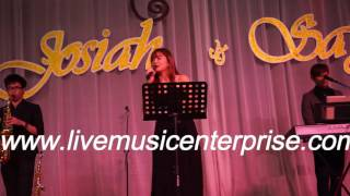 3 piece Wedding Live Band with emcee(Live music enterprise)