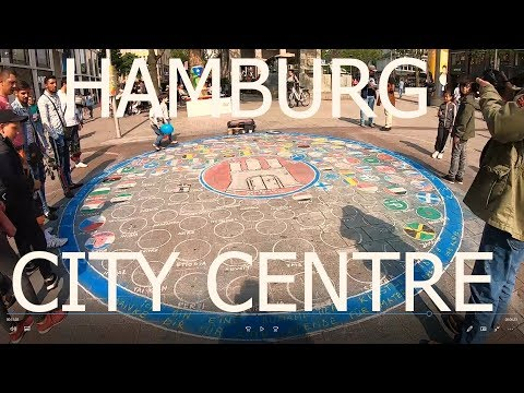 Hamburg City Centre  Germany (VLOG - 1)