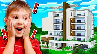 12 YEAR OLD FAN MAKES INSANE REDSTONE HOUSE!