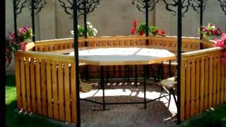 Садовая беседка из дерева и металла на даче, дизайн, конструкция, цена, купить в Днепре(, 2017-05-11T10:20:41.000Z)