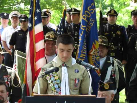 2014 Memorial Day Services in North Andover, Massachusetts
