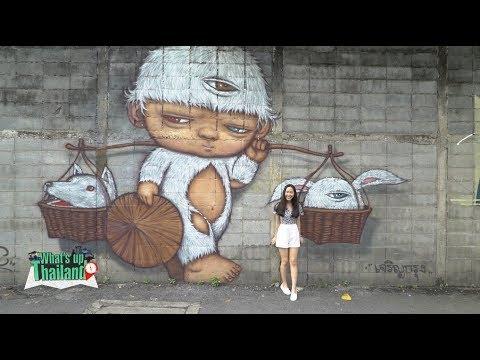 Special wall art in Bangkok!
