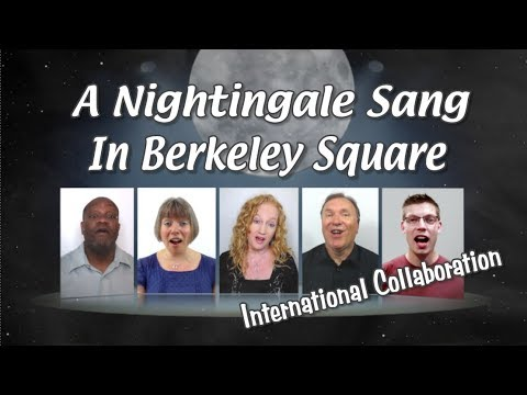 A Nightingale Sang In Berkeley Square (arr. Gareth Reaks) Multitrack A Cappella