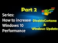 Windows 10 Optimization guide series - Pt 2 | safely disable cortana | SidTheGeek