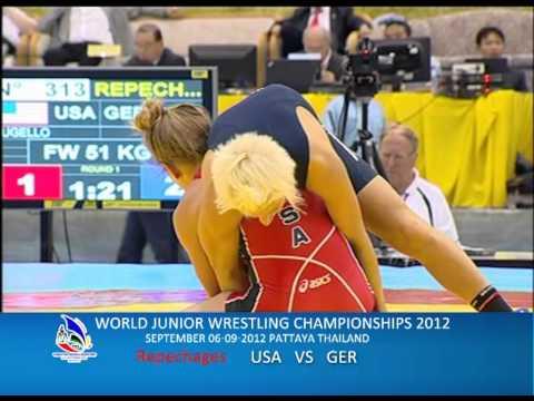 WORLD JUNIOR WRESTLING CHAMPIONSHIPS 2012_USA VS GER