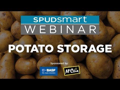 Spud Smart Webinar & Podcast - Potato Storage