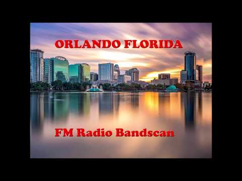 Orlando Florida FM broadcast band radio scan