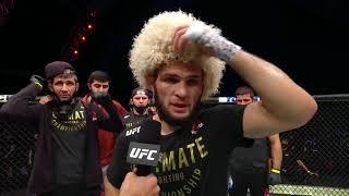 UFC 254: Хабиб vs Гэтжи - Слова после боя