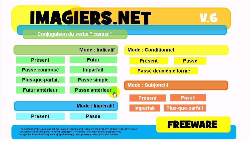 J Apprends La Conjugaison Verbe Casser Youtube