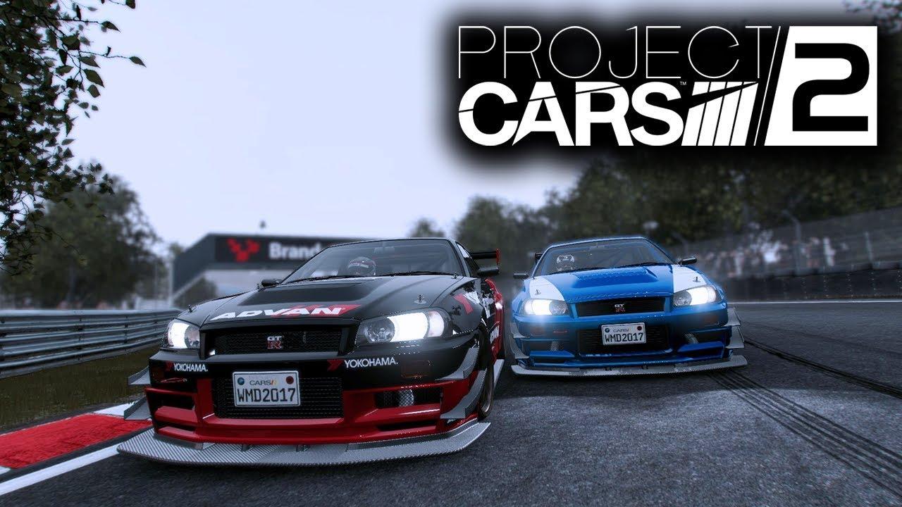 Project CARS 2 Gameplay: NISSAN SKYLINE GTR (R34) - Track Day B ...