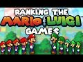 Ranking the Mario & Luigi Games