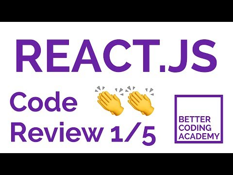 React.js Code Review #1 - Part 5 - Cleaning up the Component State