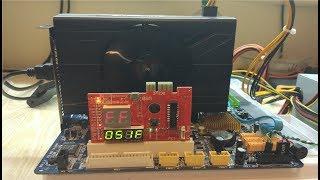 Ta'mirlash video sapphire RX570 karta. Qanday aybi uchun qarash emas.