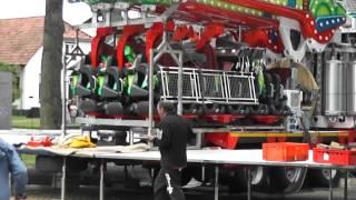 Kermis Wijchen 2015 opbouw en transport deel 6