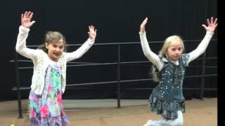 2nd grade - Fancy Footwork Dances!