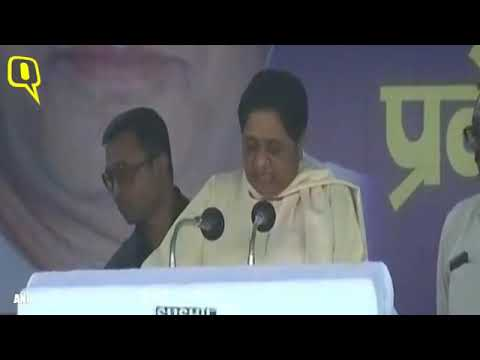 BSP's Mayawati addresses a rally in Chandigarh after Gorakhpur & Phulpur bypoll results