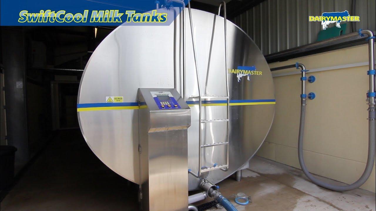 Dairymaster Milk Tank Technology - YouTube