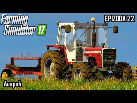 Farming Simulator 2017 | Auspuh | Epizoda 22