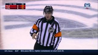 Terrible goalie interference call by Refs on Bjugstad