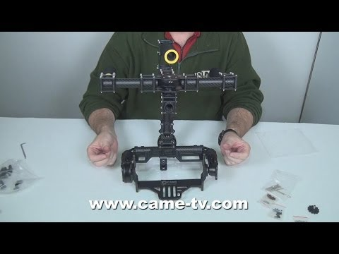 CAME-7000 Assemble 3 Axis Camera Gimbal Installation Video Demo