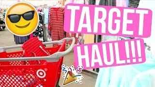 TARGET HAUL!!!! YAY!!