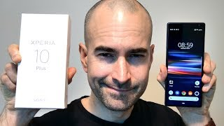 Sony Xperia 10 Plus Unboxing & Tour