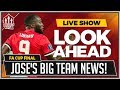 Lukaku Out of Final? Man United vs Chelsea FA CUP LIVE