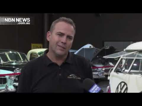 NBN News   Gosford Classic Car Auction