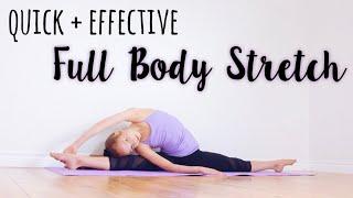 Quick 5 Minute Full Body Stretch