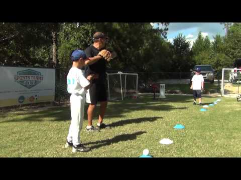 How to throw a baseball for 7 and 8 year olds