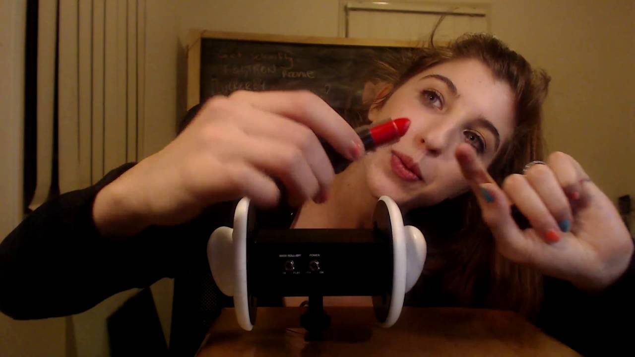 ASMR New Mic 3Dio Mouth Sounds - YouTube