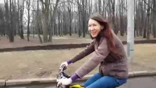 Veloezda.ru Маша_апрель 2015 Обучение езде на велосипеде