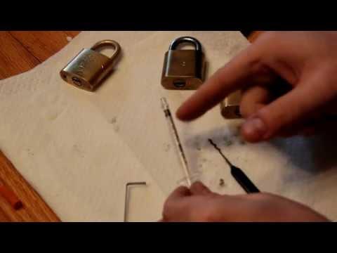 (003) Precision Lock Lubrication