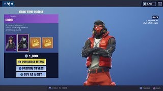 Buying 10,000 Fortnite V-Bucks & NEW 'HANG TIME BUNDLE' Michael Jordan Basketball Set & FREE REWARDS