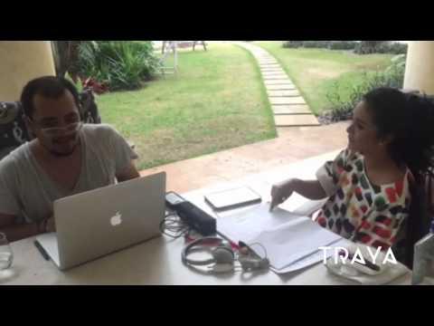 TRAYA Krisdayanti with Irvnat During Vocal Directing