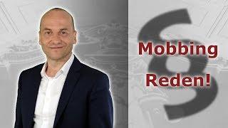Mobbing - Tipps für Arbeitnehmer 1 - Reden | Fachanwalt Alexander Bredereck