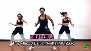 Bola Rebola - Tropkillaz, J Balvin, Anitta, MC Zaac - Jorge Moreno /zumba fitness