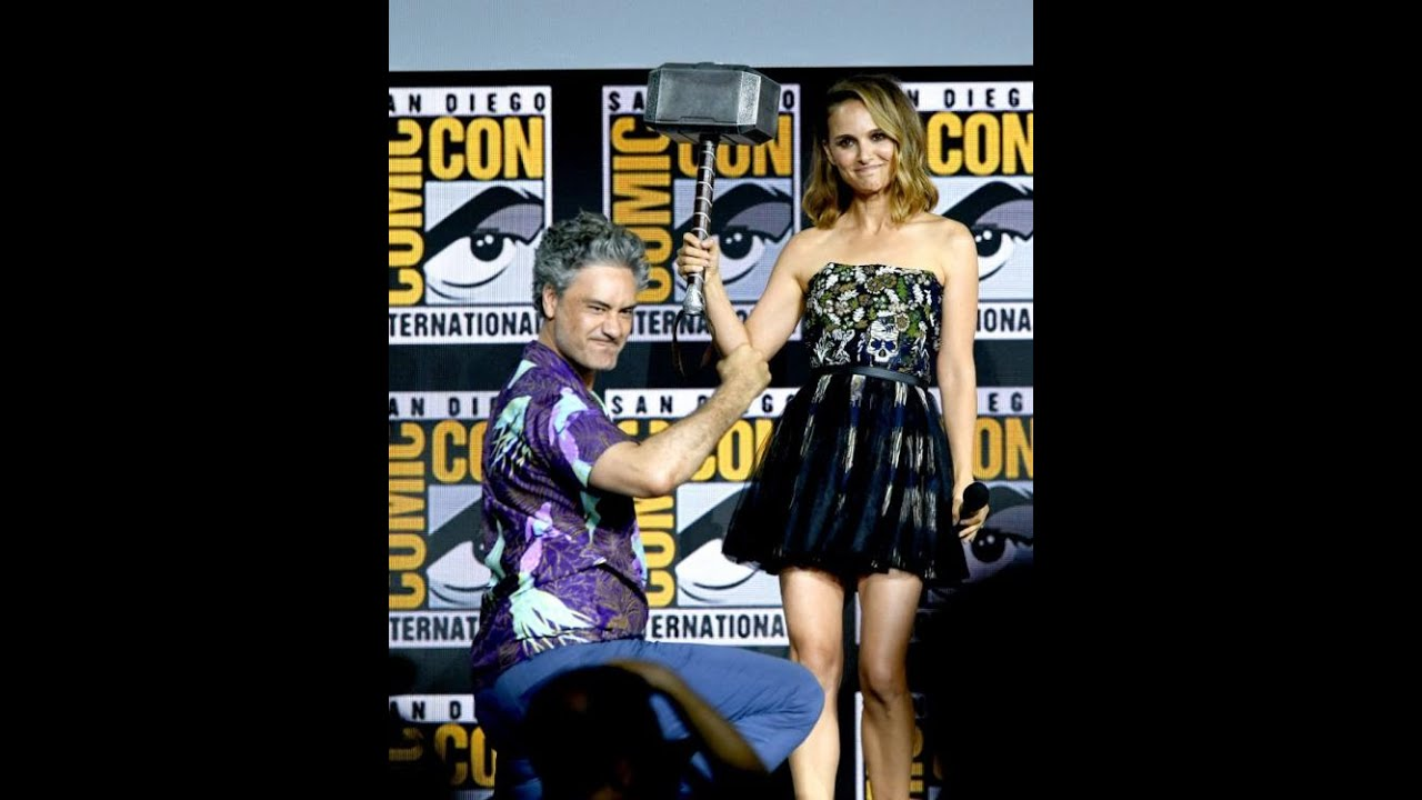 Natalie Portman = the NEXT Thor Comic Con 2019!