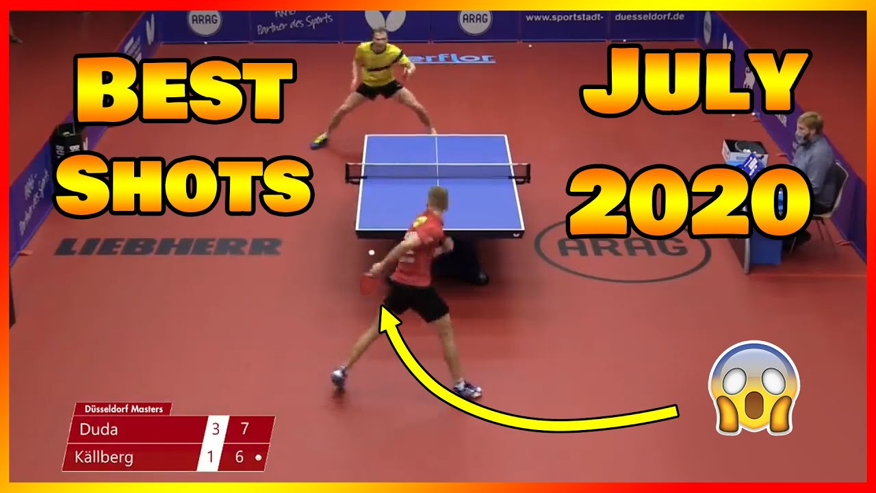 Download Best Table Tennis Shots of July 2020