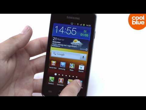 Samsung Galaxy S Advance review en unboxing (NL/BE)