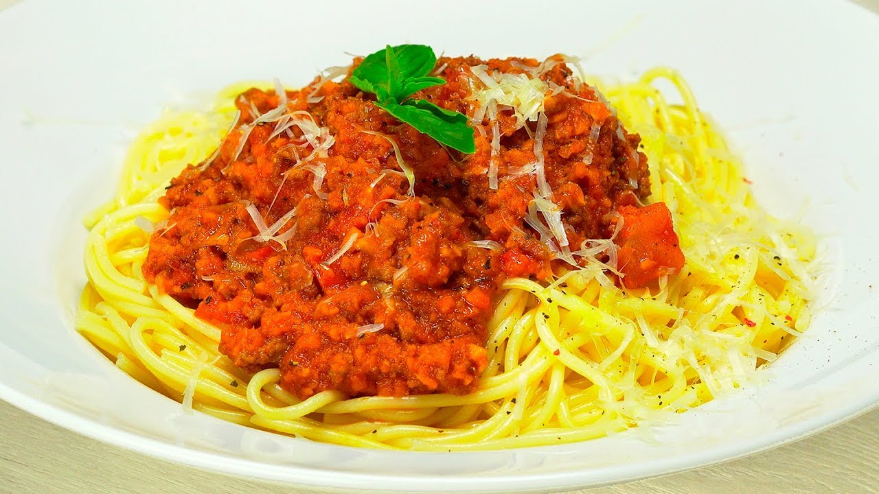 ПАСТА БОЛОНЬЕЗЕ. Итальянская кухня.  Рецепт от Всегда Вкусно!