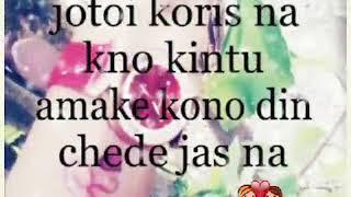 Kokono chere jabo na....love ❤❤❤....Writer M...Uploader Sabbir...