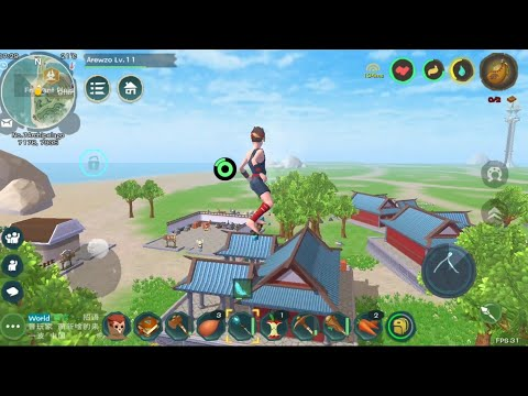 Survival, PVP, Taming, Life, Housing, And Magic! - Utopia:Origin [EN] Android Survival MMO Gameplay