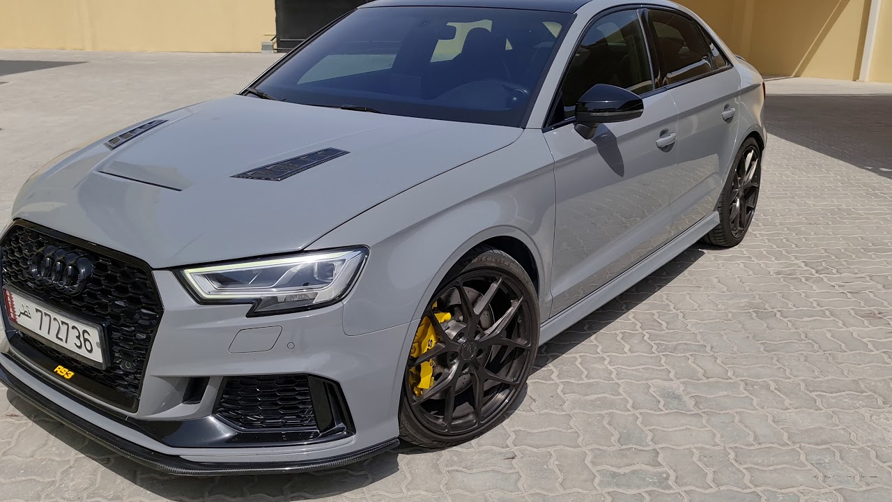 She's Complete - exterior walk around on my RS3