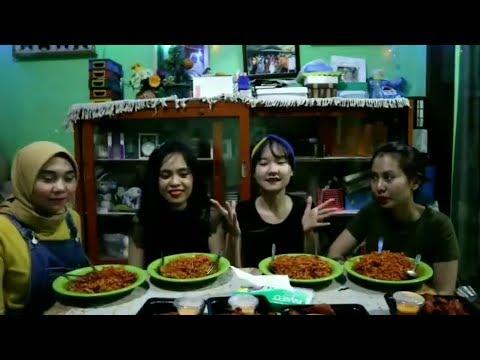 HOROR!!SUARA KUNTIALANAK TEREKAM di saat challenge makan samyang dan richeese