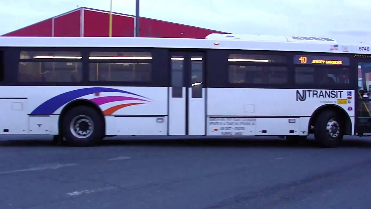 New Jersey Transit : NABI 416.15 (40 SFW) 5748 On The 40 @ Jersey Gardens /  IKEA