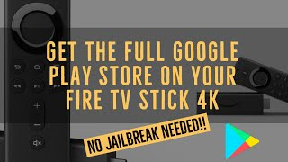 Baixar Install The Google Play Store On Your Fire TV Stick | No Jailbreak!! | Easy!!