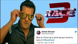 Salman Khan's Race 3 TROLLED Hilariously On Twitter
